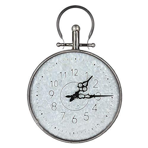 Retro Wanduhr 31,5cm Taschenuhr Design Küchenuhr Wohnzimmeruhr Baduhr Quartz Uhr