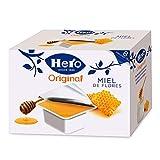 Hero - Confitura de Miel de Flores en Porciones Individuales Pack de 6 Cajas de 8x25 g