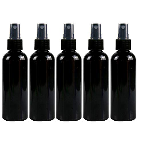 Affordable FANFU 5PCS 30ML Plastic Black Spray Bottle for Cleaning Solutions Spray Squirt Bottle Emp...