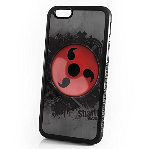 (For iPhone 8/iPhone 7) Durable Protective Soft Back Case Phone Cover - A11096 Naruto Sharingan