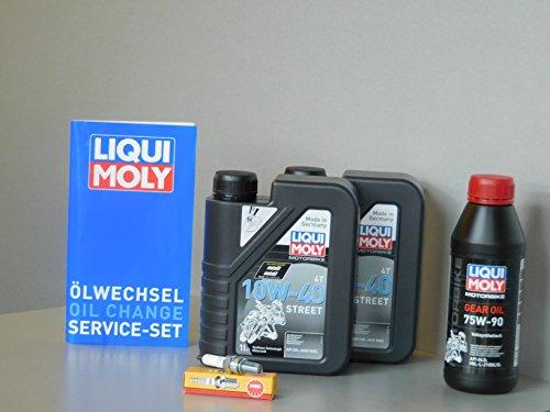 MotorFunSports Kit d'entretien SYM GTS 250 Huile Bougie d'allumage Service d'inspection ölwechsel