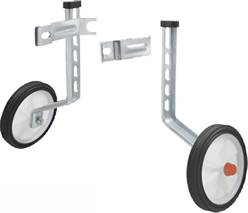 RMS Rotelle Regolabili per Bici da 12'' a 20'' Adjustable Training Wheels for Bikes from 12 ''to 20''