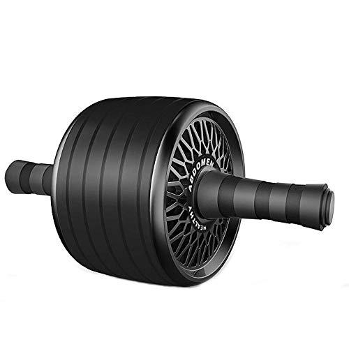 Zhebei accesorios de equipo de fitness rodillo y saltar cuerda mute abdominal rueda Ab rodillo pad Black03