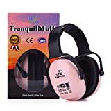 Amplim Hearing Protection Earmuff for Toddlers, Teens and Adults. Noise Cancelling Headphones for Kids. Autism Spectrum Ear Defenders - Airplane, Concert, Outdoor, School – Pink