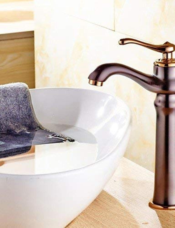 MONFS HOME ORB Plated Single Handle Countertop Brass Basin Faucet Mixe