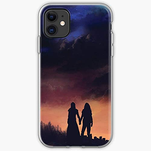 Clear TPU Phone Case Clarke Lexa 100 The Commander Griffin Compatible with iPhone 12 12 Pro MAX Mini 11 11 Pro MAX X/XS XR Se 2020/7/8 Plus 6 6s Plus Samsung Galaxy