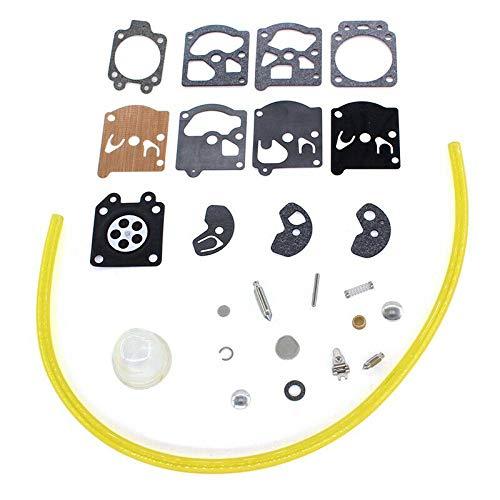 POWERTOOL Kit de reparación de juntas de carburador, kit de reparación de carburador, kit de reparación de carburador para Walbro WA Series Carby Diafragma motosierra