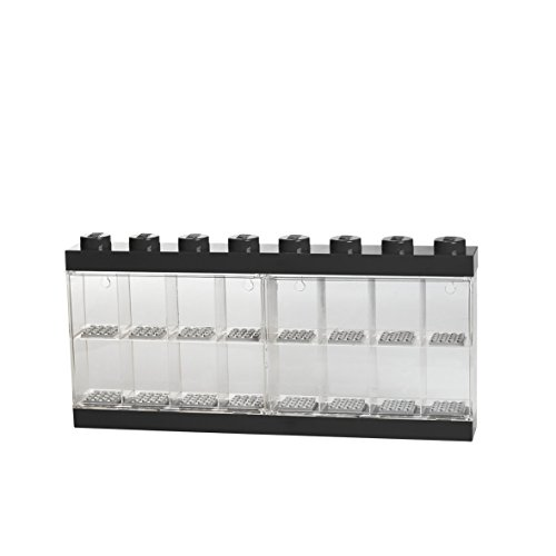 LEGO Minifigure Display Case 16, Black