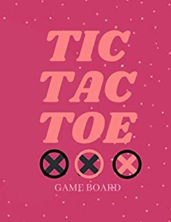 "Tic Tac Toe GAME BOARD: Book for Kids and Adults! Cover : Soft Cover (Matte) Size : 8,5"" x 11"" Interior: 100 pages with Blank 12 Games per Pages (1200 Games)."