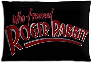 16x24 inch 40x60 cm bench pillow protectors case Polyester * Cotton Perfect Wrinkle free Who Framed Roger Rabbit