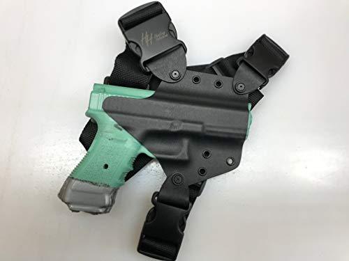 Hosking Chest Holster for Glock MAS Black (Glock 17/19/22/23/34/35, Right)