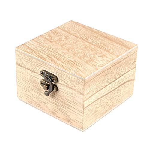 Hemobllo Uhr Geschenkboxen Holz Schmucketuis Armband Armreif Halter Veranstalter Schmuck Aufbewahrungsbox