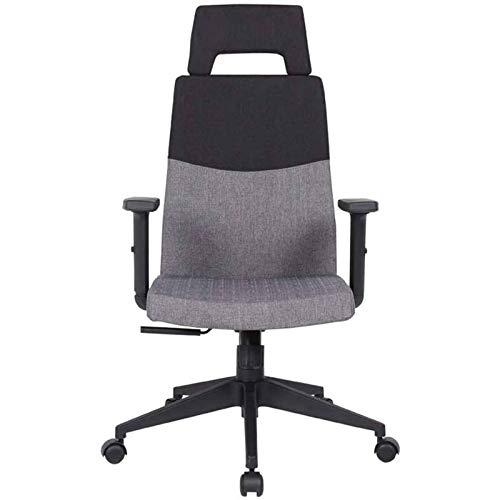 HMBB Sillas de Escritorio, Sillas y sillas taburetes de oficina de Home silla ergonómica, Escritorio respaldo silla ergonómica del ordenador de tareas Cascada Asiento de combinación Edge Diseño de col