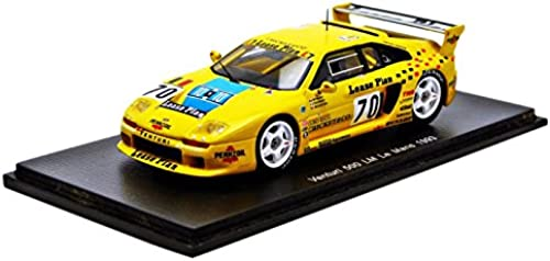 ahorra 50% -75% de descuento Spark s2277 Venturi 500LM Le Mans 1993 1993 1993 Escala 1 43 amarillo  bajo precio