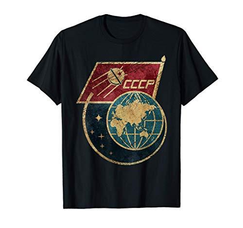 CCCP Original Russia Space Program USSR Gift Tshirt Camiseta