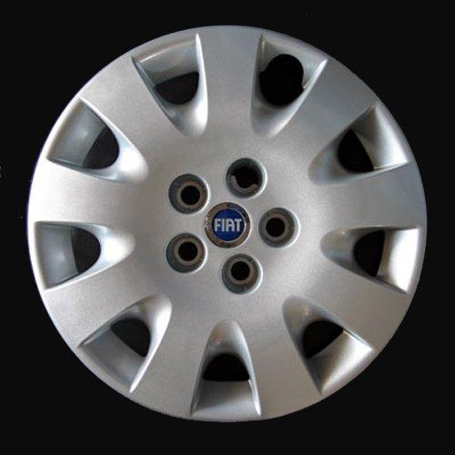Jeu de 4 Enjoliveurs Neuf Pour Fiat Croma 2005-2010 Avec Roues Originales En 16 Pouces