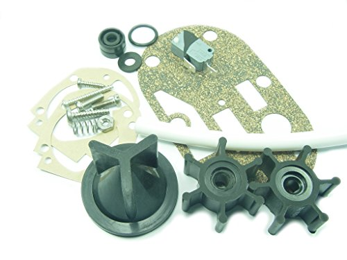 Jabsco 29101-0000 Service Kit, Seals and Gaskets for Electric Toilet Conversion