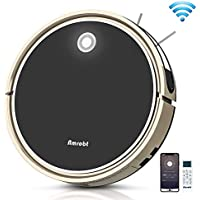 Amrobt Wi-Fi 1600Pa Strong Suction Robotic Vacuum Cleaner