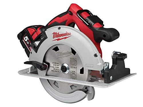 Milwaukee M18 BLCS66-502X Brushless Circular Saw 18V 2 x 5.0Ah Li-ion