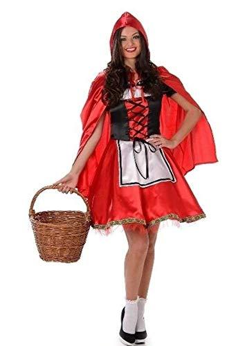 Karnival Costumes Costume de Chaperon Rouge pour Femme