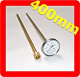 ad-ideen 500°C Thermometer 40 cm Ofenthermometer Holzbackofen