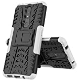 MingMing Case for Nokia 2.4, Kickstand Heavy Duty Armor