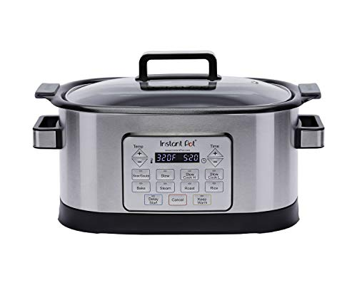 Instant Pot GEM65 V2 Gem 6 Qt 8-in-1 Programmable Multicooker with Advanced Microprocessor Technology