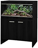 The Maxi Medium Repti-homeis a high quality affordable vivarium for exotic pets that require a bit more heating. High quality flat-packed furniture Stylish contemporary black finish Size: 86 x 49 x 120.5 cm Vivarium & cabinet included