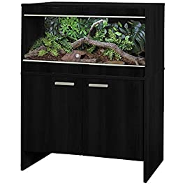 Vivexotic Repti-Home Maxi Medium Black Vivarium & Cabinet, PT4134/ PT4150