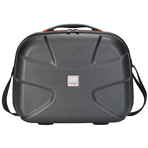 Titan X2 Valise de beauté 38 cm, Noir brossé (Noir) - 825702