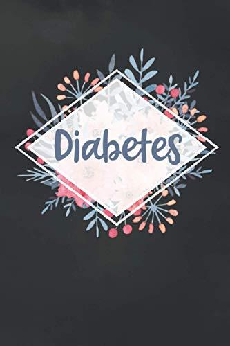 Diabetes: Blutzucker Tagebuch zum Ausfüllen | mit Platz für die Messungen von einem Jahr | für 54 Wochen