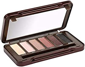 BYS On-The-Go Eyeshadow Palette,Six Shades with Mirror and Applicator, Nude
