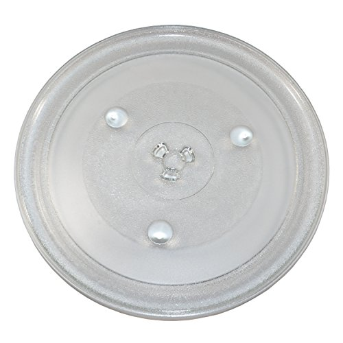 HQRP 12-3/8 inch Glass Turntable Tray compatible with Hamilton Beach P100N30 P100N30AL P100N30ALS3B HBP100N30ALS3 GA1000AP30P3 EM031MZC-X1 Microwave Oven Cooking Plate 315mm