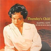 Eartha Kitt With Henri René And His Orchestra - Thursday's Child - RCA International - NL89437