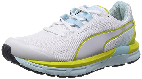 PUMA Faas 600 S v2 Wn wht/Clearwater/Yellow Gr. 35.5