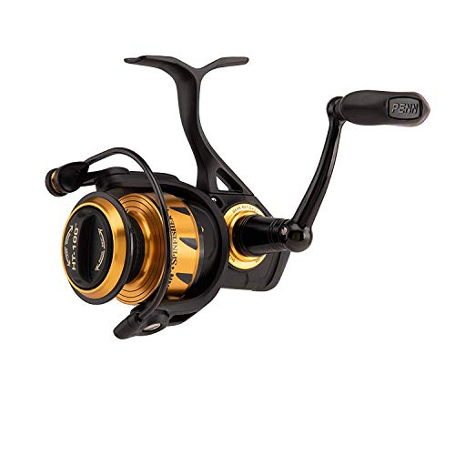 Awas Penn Freilaufrolle Spinnrolle VI Spinfisher Life Liner Schwarz Spinning (8500 LL)