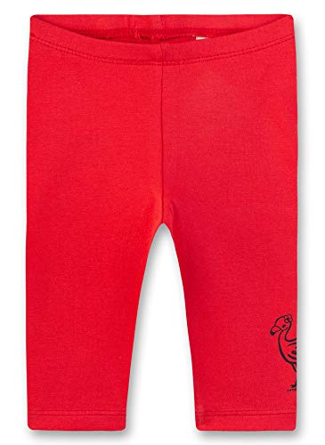 Sanetta Legging, Rouge (Fresh Strawberry 3904), 62 (Taille Fabricant: 062) Bébé Fille