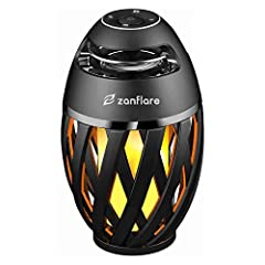 🔥🎵【MULTI PURPOSE FLICKER LAMP】: 96 LEDs, each flickering light bulbs with warm yellow lights, forming a stunning flame. It is not only as a Bluetooth Speaker, but also as a flame light, can create a romantic and cheerful atmosphere, great for home, b...