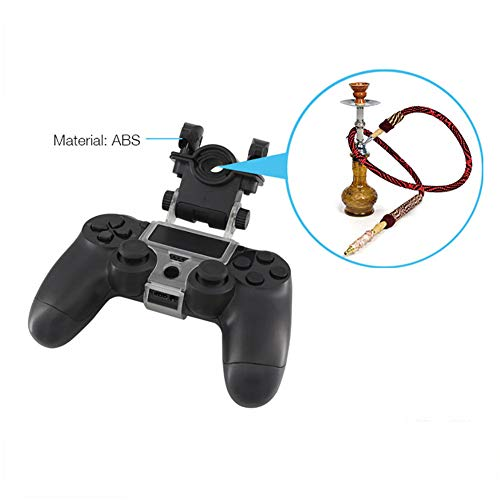 TLfyajJ Soporte para teléfono con Soporte para Tubo Flexible Hookah Smoke Play para Sony PS4Slim Pro Controlador
