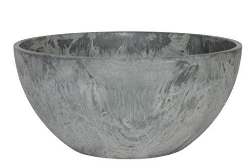 Ivyline Artstone 120091 Schale Fiona, 31 x 15 cm, grau