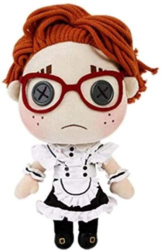NC277 Juego Identity V Survivalist Lucky Cosplay Maid Dress Outfit Doll Plush Stuffed Cojín Throw Toy DIY Change Set Regalo 30 cm