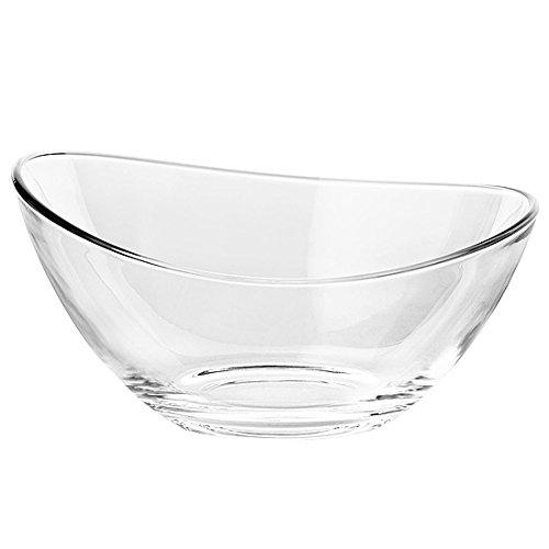 Vidivi Papaya Bowls de Vidrio, 3.8 l