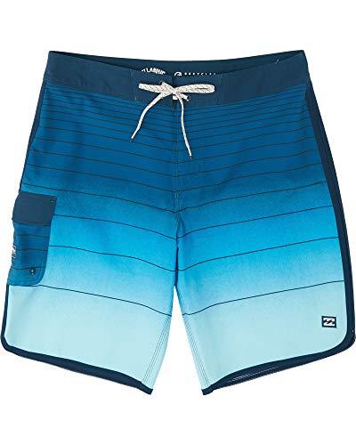 BILLABONG™73 Stripe Pro 20' - Striped Board Shorts - Men - 34 - Blu