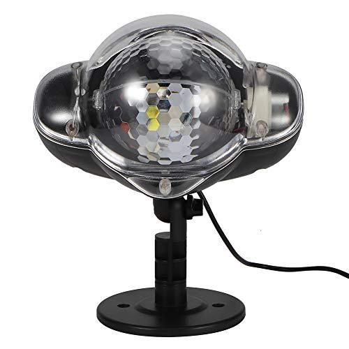 SanZHONGsd USB alimentado al aire libre impermeable lámpara de proyección luz de noche estrellada LED de proyección luz Festival decoración lámpara