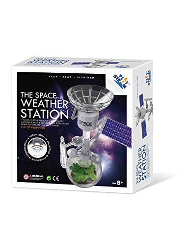 PLAY STEAM Kit de estación meteorológica, cambio climático, calentamiento global, laboratorio, juguetes STEM regalo educativo para niños y adolescentes, niñas y niños
