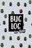 Bug Log for Kids: Bug Journal and Investigation Notebook for Insect Enthusiasts - Record Important Information About Your Bug Observations - Include a ... - Ladybugs and Beetles Cover (Bug Log Book)