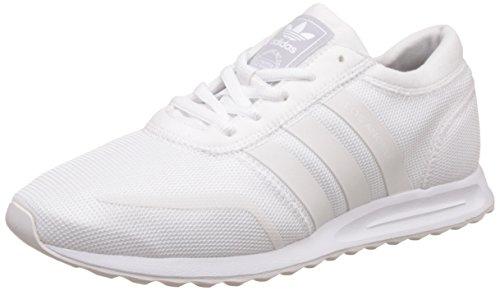 Adidas Los Angeles, Zapatilla de Deporte Baja del Cuello Unisex Niños, Blanco (FTWR White/FTWR White/FTWR White), 35.5 EU