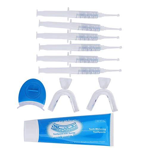 Dispositivo De Blanqueamiento Dental Máquina De Blanqueamiento Kit Blanqueador Dientes, Bandeja Bucal Ligera Juego Gel Dental Manchas Blanqueador Productos para El Cuidado La Higiene