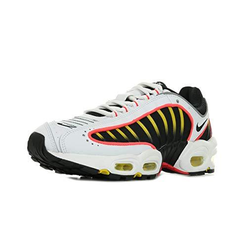 Nike Air Max Tailwind IV Mens Running Trainers AQ2567 Sneakers Shoes (UK 8.5 US 9.5 EU 43, Black White Bright Crimson 109)
