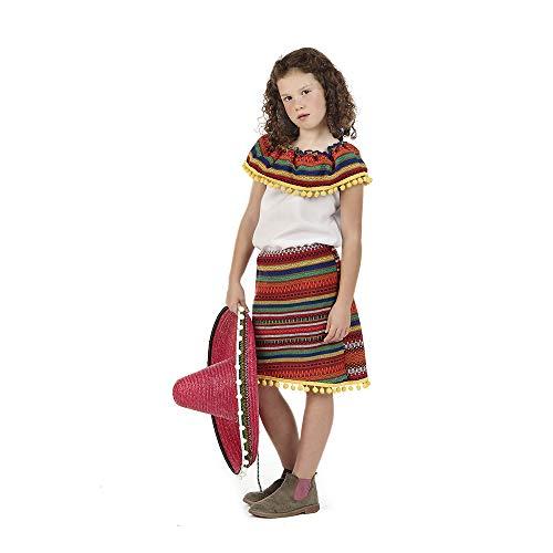Disfraz de Mejicana Adriana para niña